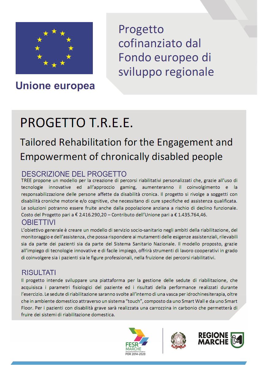 Finanziamenti regionali POR-FESR (Progetto T.R.E.E.)